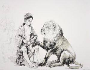 the lion who loved the lady